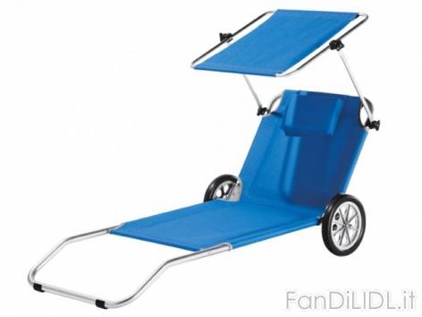 Sdraio Trolley Da Spiaggia Lidl.Sdraio Trolley Da Sport E Ricreazione Ilvolantinolidl It